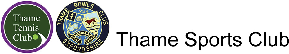 Thame Sports Club, Chiltern Grove, Thame, Oxfordshire Logo